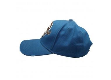 Bearded & Badass Hat Blue | Side