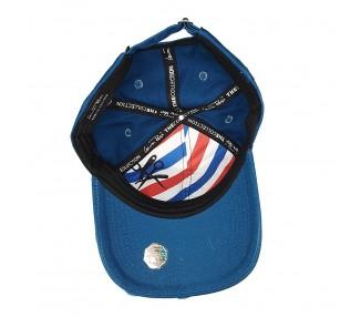 Bearded & Badass Hat Blue   Binnenkant
