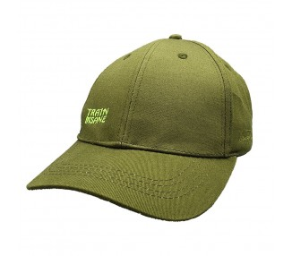 Train Insane Green Strapback Hat| Lauren Rose