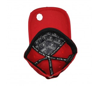 Train Insane Red Strapback Pet | Inside