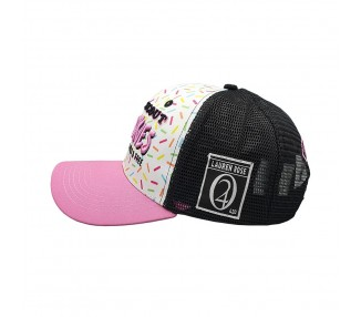 Lauren Rose Big Buddha Cheese Camo Snapback