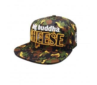 Big Buddha Cheese Allover Camo Print 420 Hat