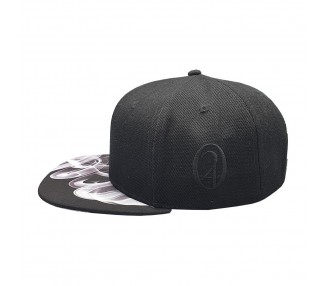 It's 420 White Fire Weed Snapback Hat | Lauren Rose 420 Collection