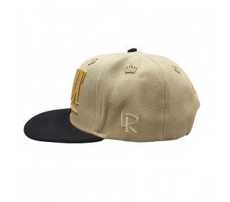 Respect Khaki Snapback Hat | Lauren Rose Collection