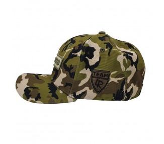 Lauren Rose – Grindin' Camo Green Adjustable Flexfit Hat