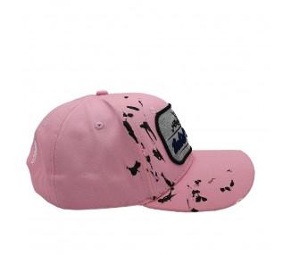Inked & Ripped Tattoo Pink Strapback Hat