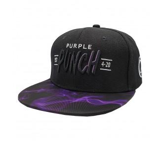 Lauren Rose Purple Punch Smoke 420 Snapback