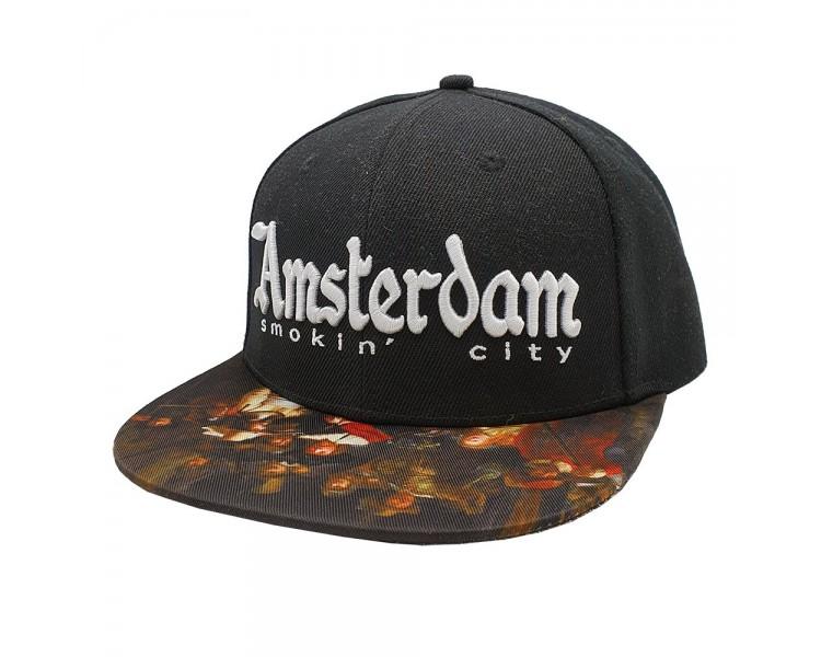 Amsterdam Smokin City Snapback