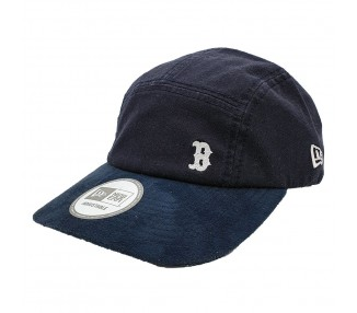 New Era Boston Red Sox 5 panel font view