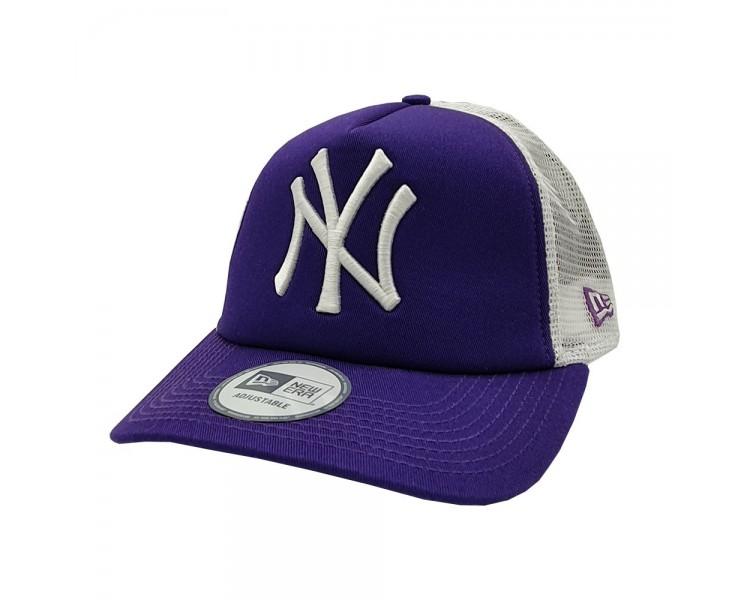 New Era   New York Yankees Purple Trucker Hat