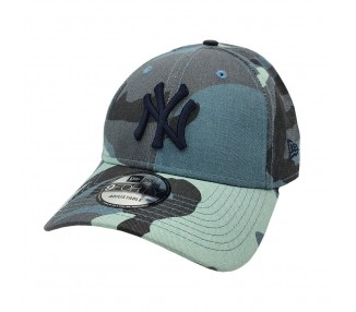 New York Yankees Essential Black/Blue Camo 9Forty