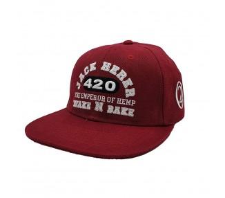 Jack Herer 420 Wake N Bake Snapback Hat