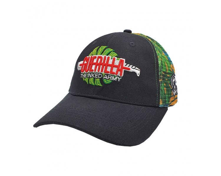 Guerilla Inked Tropical Trucker Snapback Hat