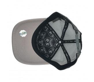Cocaine & Caviar Trucker Snapback Hat - Grey