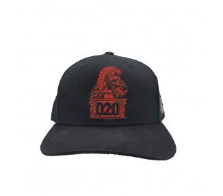 Ajax the Great 020 Snapback Black Hat -  Red Logo