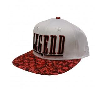 Legend 'White/Red Roses' Snapback Hat