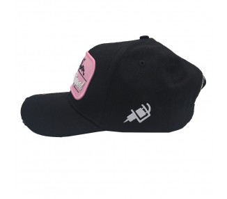 Inked & Ripped Tattoo Hat BlacK/Pink