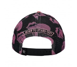 Double Bubblegum 420 Trucker Hat Backside View
