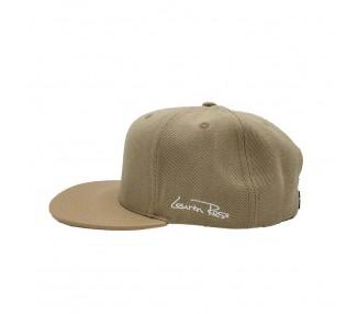 Khaki Straight Visor Hat