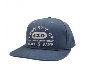 Chaiba Wake & Bake Washed Blue Hat