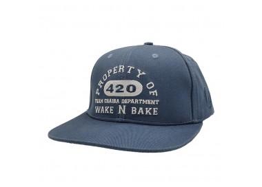 Chaiba Wake & Bake Washed Blue Hat