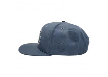 Chaiba Wake & Bake Washed Blue Hat Side View