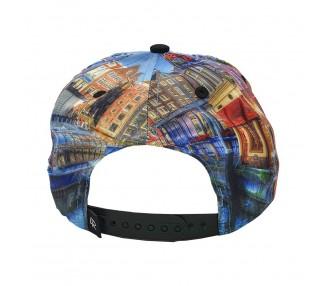 NEW ERA MIAMI HEAT TURQUOISE/ORANJE FITTED CAP