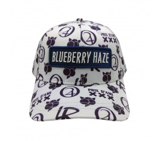 Blueberry Haze Strain Hat Front View