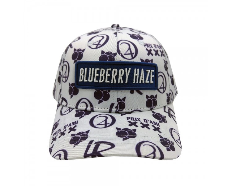 Blueberry Haze Strain Hat Front View
