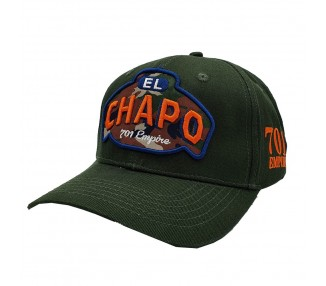 Lauren Rose - El Chapo Green Hat - Front view