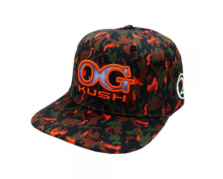 OG Kush 420 Camo Hat