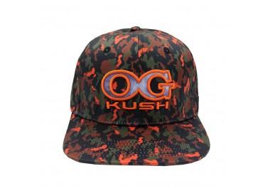 OG Kush 420 Camo Hat Front