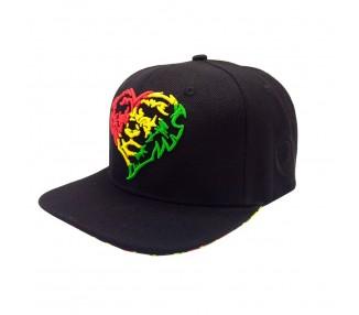 Lionhearted Rasta Front Hat