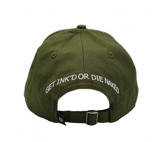 Inked & Ripped Tattoo Hat - Green