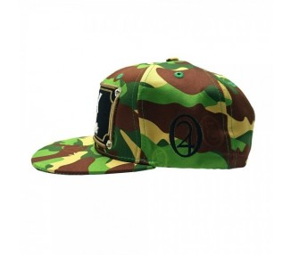 AK47 Camo 420 Hat Side